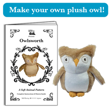 Make your own plush owl!